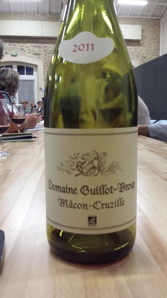 Domaine Guillot Broux Macon-Cruzilles